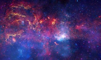 NASA's image of the turbulent heart of our Milky Way galaxy
