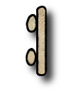 This day in Long Count is 0.0.8.7.10 - - - - The dot glyph is worth 1, the bar glyph is worth 5.  The Long Count is separate but related to the Dreamspell calendar. The Long Count glyphs are sand colored on this page. - - - - There are 7 winal on this day. 0.0.0.7.0 = 7 * 20 = 140 days
